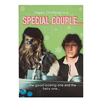 Hallmark Star Wars Christmas Card To A Special Couple Which One S