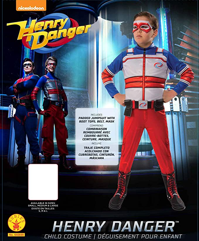 Amazon.com: Disfraz de niño Henry Danger.: Toys & Games