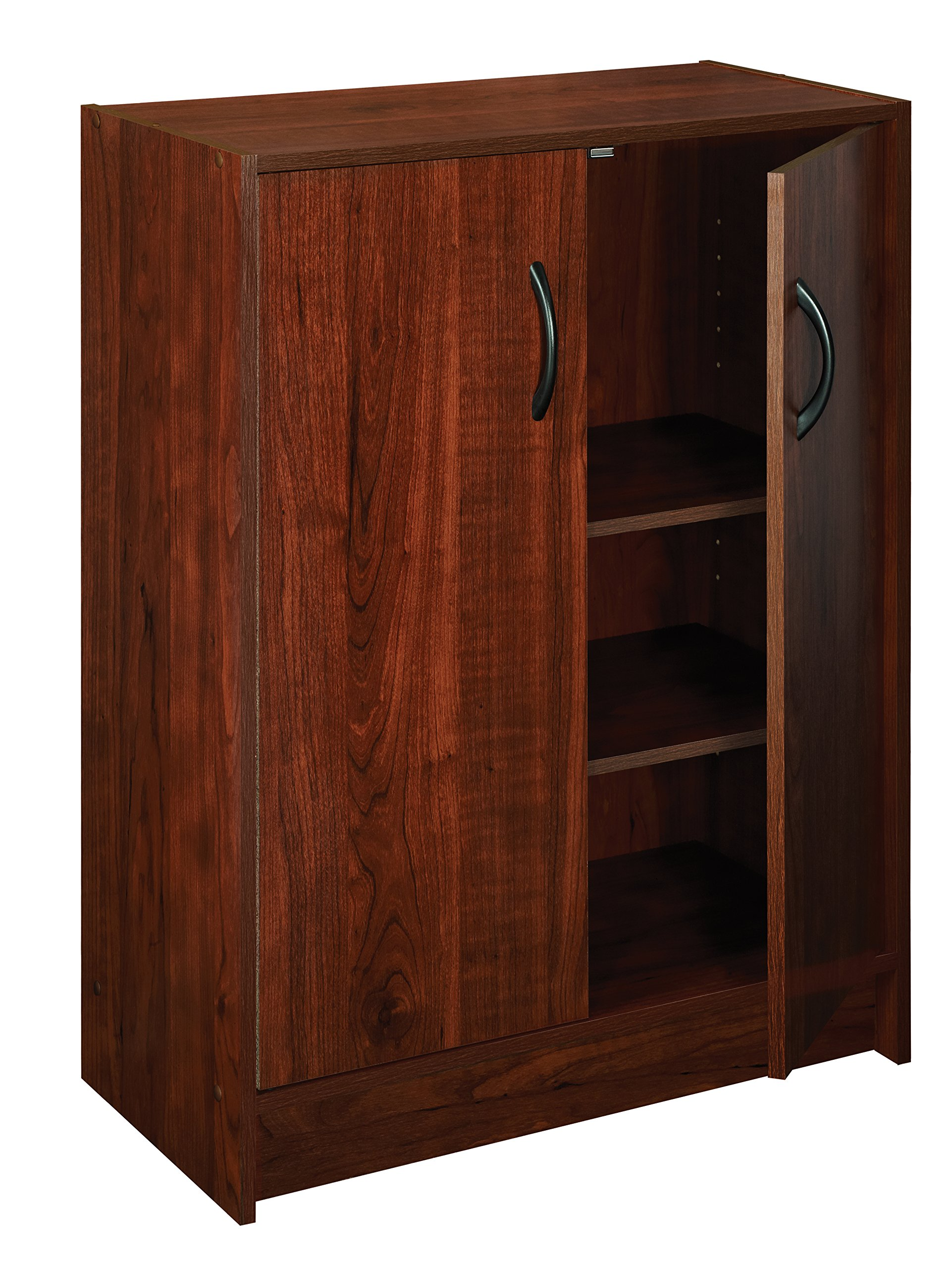 ClosetMaid 1307 Stackable 2-Door Organizer, Dark Cherry by ClosetMaid
