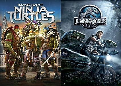 Amazon.com: Jurassic World & Teenage Mutant Ninja Turtles ...