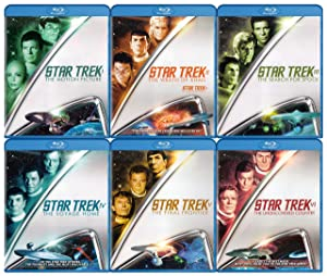Star Trek Collection (The Motion Picture / The Wrath of Khan / The Search for Spock / The Voyage Home / The Final Frontier / The Undiscovered Country) (Blu-ray)