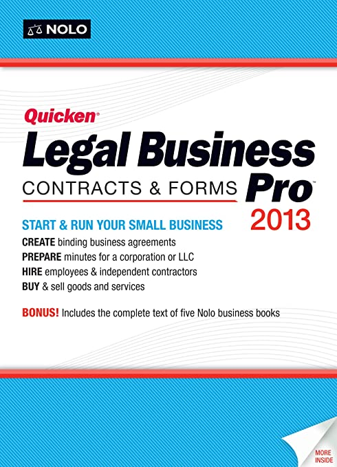 Amazon.com: Quicken Legal Business Pro 2013 [Old Version]