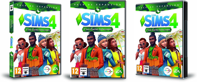 Los SIMS 4 y las cuatro estaciones (La caja contiene un código de descarga - Origin): Amazon.es: Videojuegos