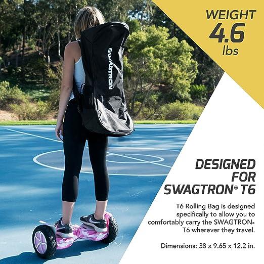 Amazon.com: swagtron T6 Roller – Bolsa Nylon Hoverboard ...