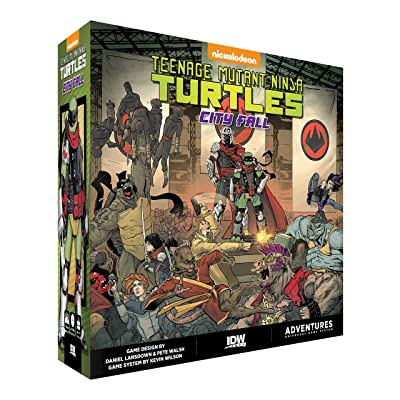 Teenage Mutant Ninja Turtles Adventures - City Fall: Toys & Games