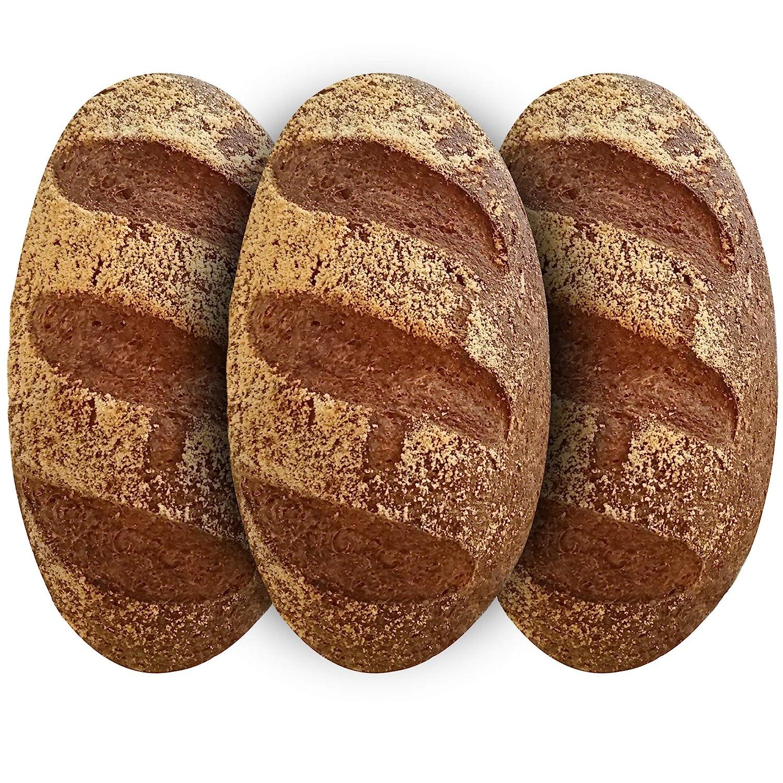 Yez! Artisan Keto Bread - Certified Keto, Paleo, Vegan - Low carb, Gluten free, Wheat free, Grain free, Soy free, Preservatives free, All Natural, Clean Keto Food (small loaf - 10 oz each)