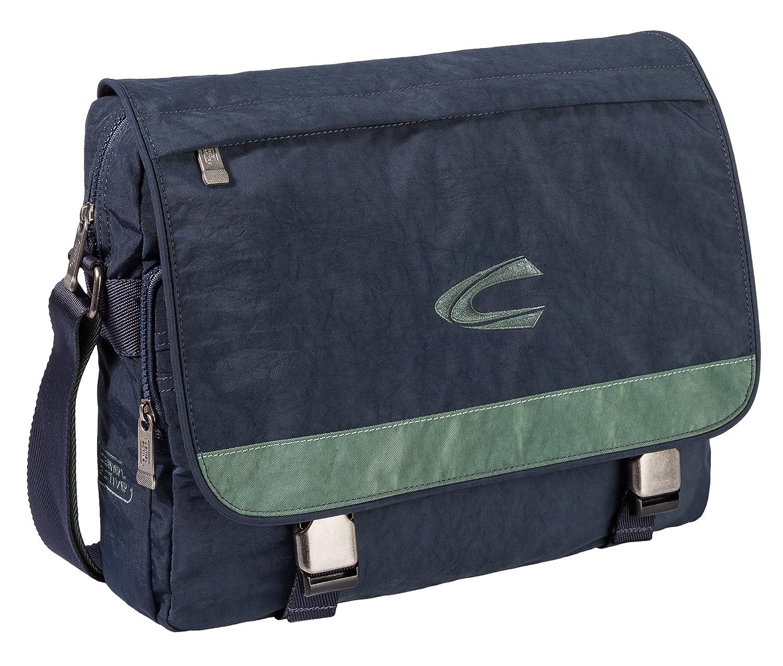 キャメルアクティブメッセンジャーバッグ、ブルー/グリーン(ブルー) - B00 803 57   B01D9DZMD4