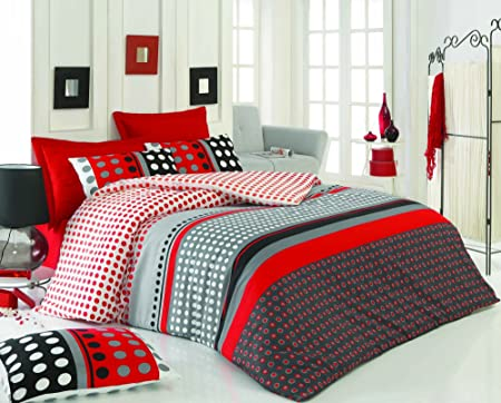 3 Pcs Luxury Soft Colored Full And Double Bed Size Bedroom Bedding