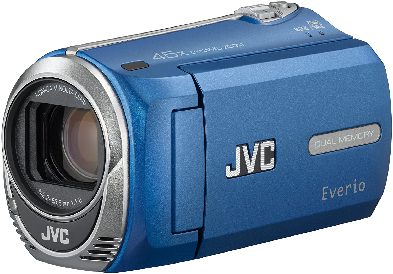 Amazon.com : JVC GZ-MS230 Camcorder (Blue) : Dual Sd Camcorders : Camera &  Photo