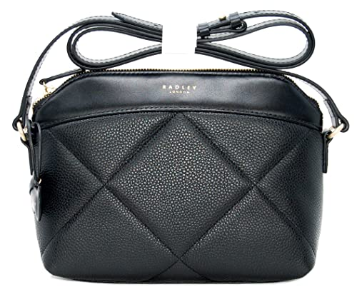 3d6328929e Radley  Fenchurch Street  Crossbody Shoulder bag in Black Leather   Amazon.co.uk  Shoes   Bags