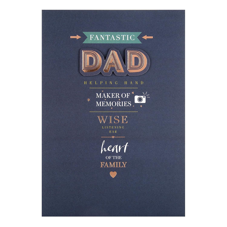 Hallmark Dad Fathers Day Card Wine Medium