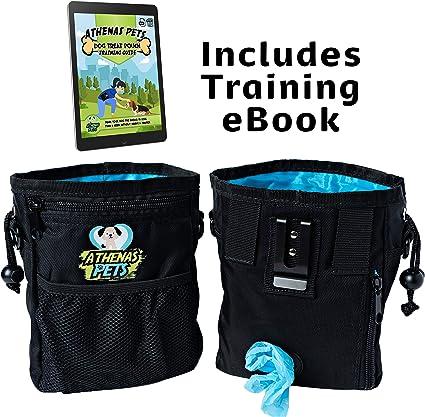 Amazon.com: Athenas - Bolsa de entrenamiento para perros con ...
