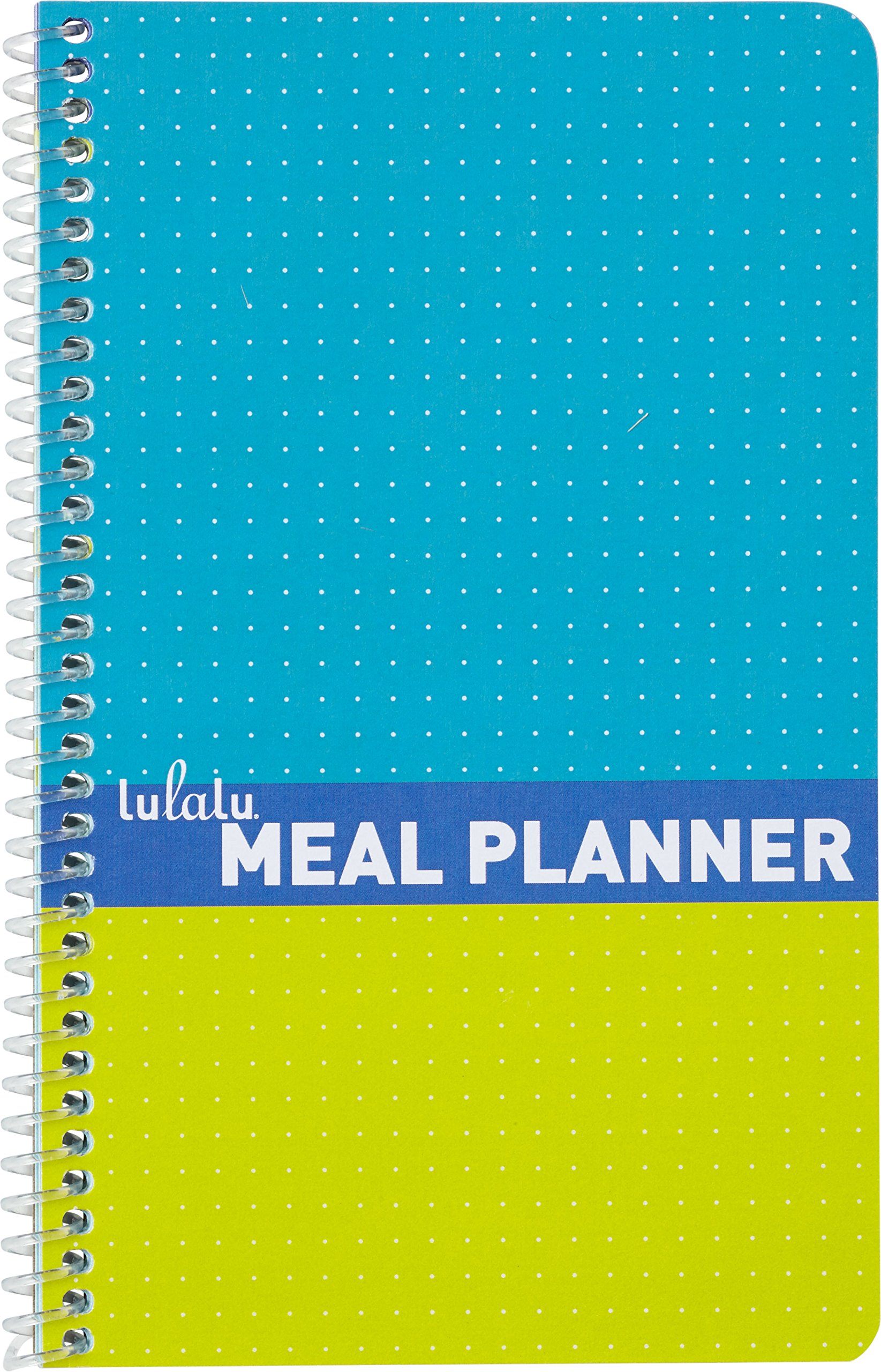 Lulalu Weekly Meal Planner Kiwi Blue