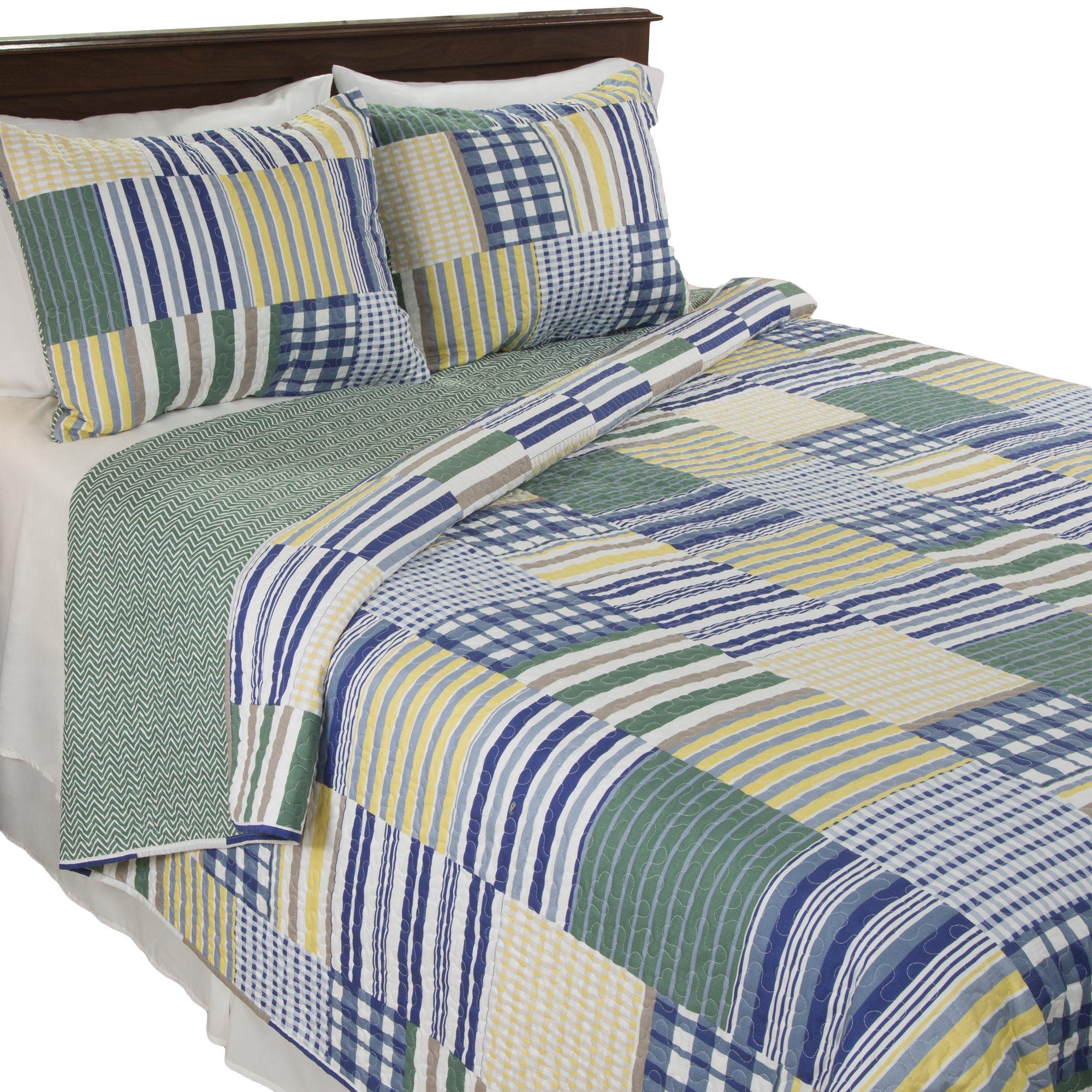 Lavish Home Lynsey 2 Piece Quilt Set - Twin