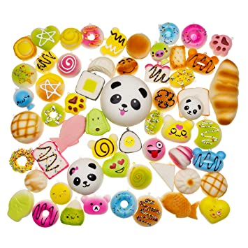 Bag Parts & Accessories Hot Selling 7cm Jumbo Panda Squishy Charms Kawaii Buns Bread Cell Phone Key/bag Strap Pendant Squishes Bag Accessories
