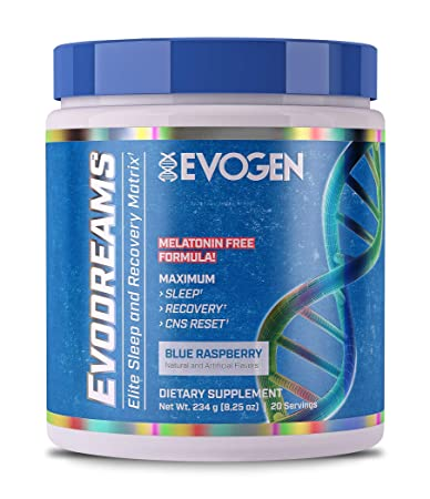 Evogen Evodreams | Elite Sleep and Recovery Matrix, Melatonin Free, Glycine, Tryptophan,