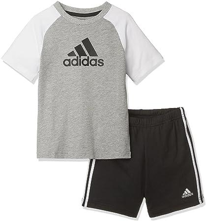 unique design the latest buy good adidas Children's Summer T-shirt & Shorts Set, Children's, CF7408