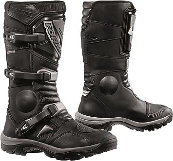Sidi Discovery Rain Motorcycle Boots 46, Black