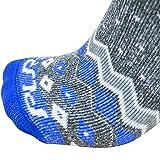 Pure Athlete Midweight Ski Socks – Warm Skiing