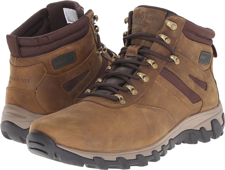 Rockport Men's Cold Springs Plus Plain Toe Boot 7 Eye