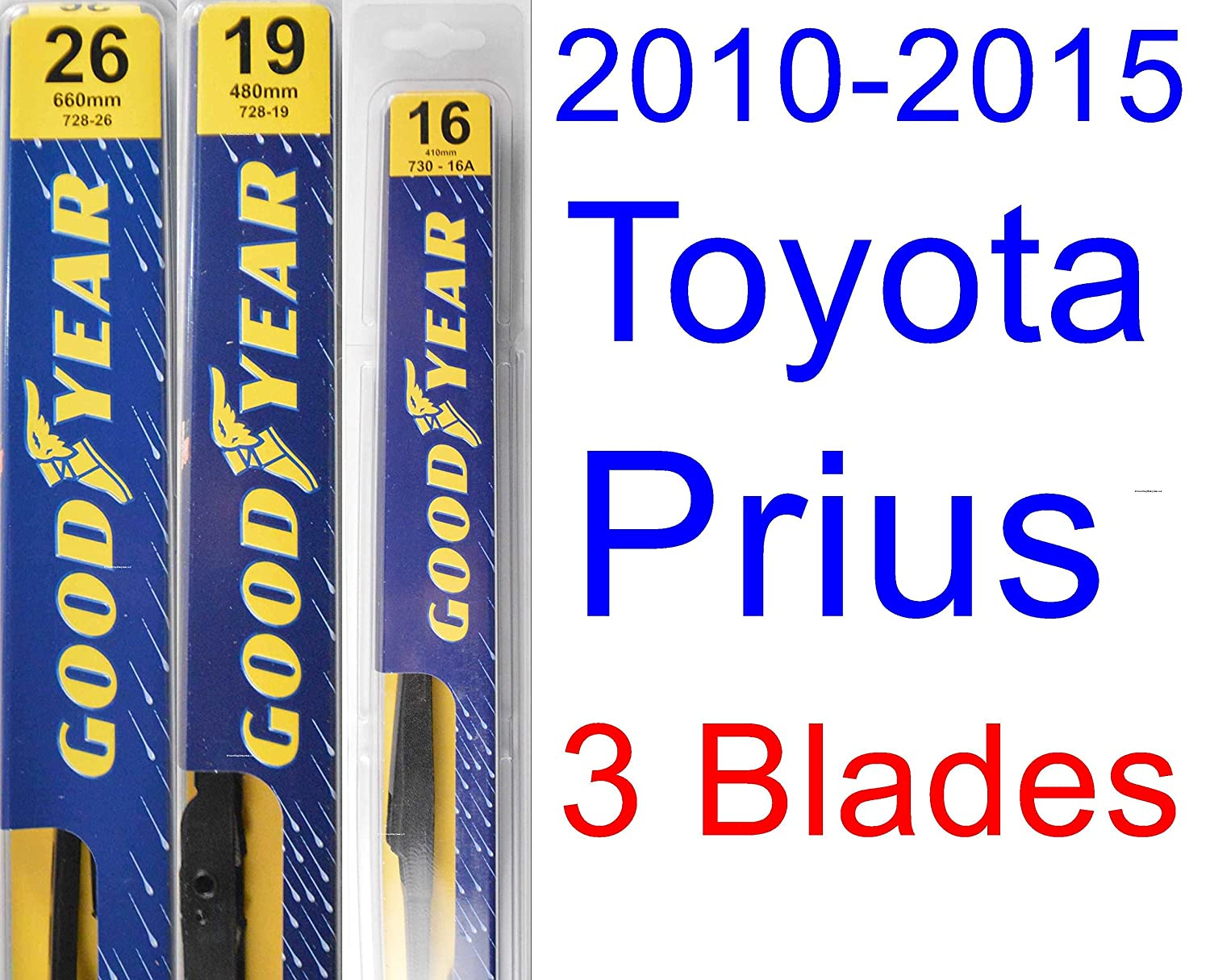 Wiring Diagram 2015 Prius Wipers 32 Images Toyota Sl1500 Amazon Com 2010 Replacement Wiper Blade Set Kit Electrical