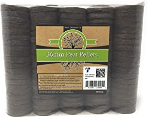 Root Naturally 36mm Peat Pellets - 100 Count