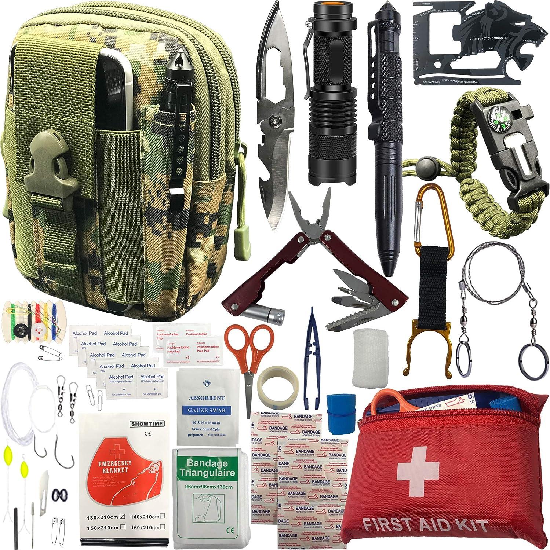 universal Survival kit ultimate kit 16 piece BEAR GRYLLS Survival kit built