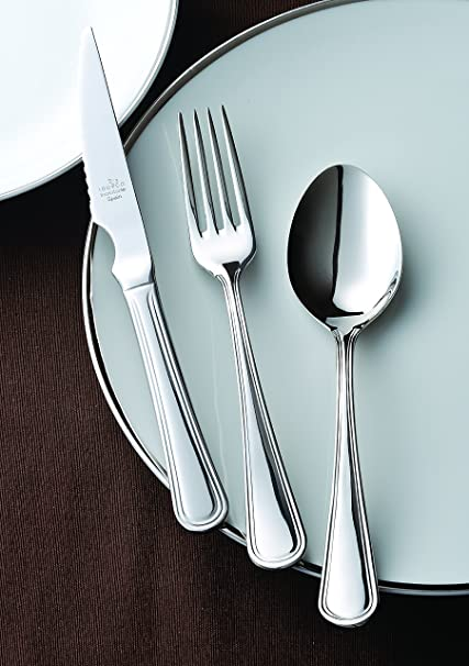 Amazon.com | idurgo Milan Ref. 19700 Cutlery Set, Stainless Steel ...