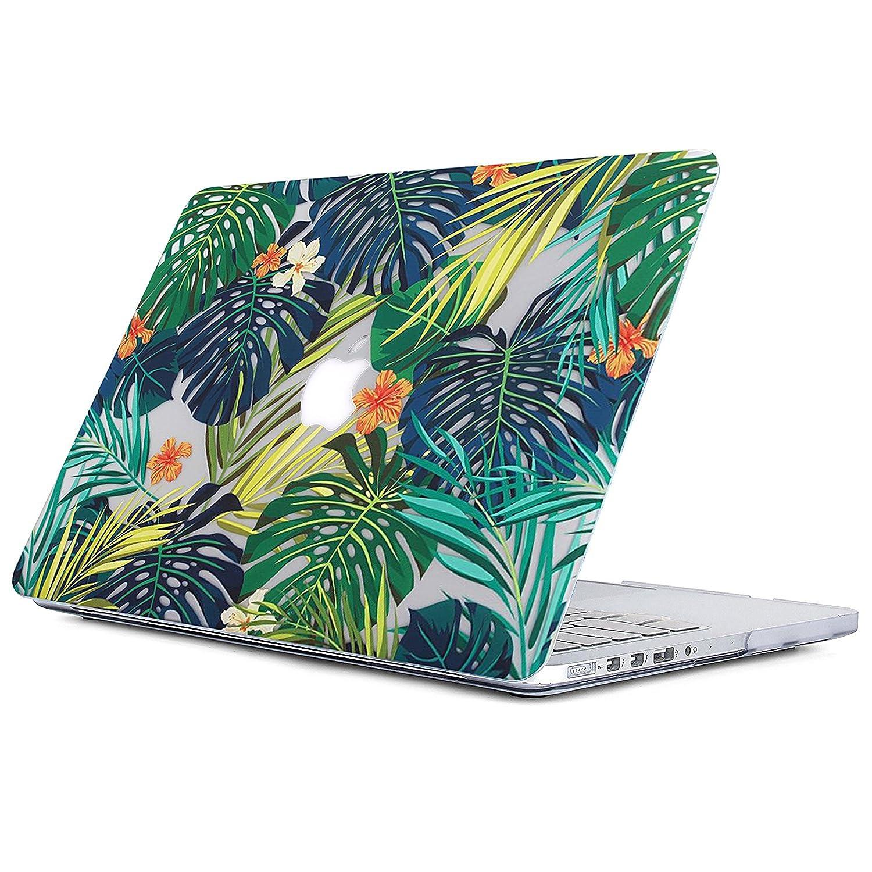 A1370 et A1465 - Palm leaves /& Flower G L2W Matte Print Housse de coque protectrice dure pour Palm Macbook Air 11 Coque MacBook Air 11