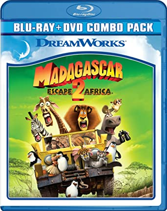 Amazon com: Madagascar: Escape 2 Africa (Two-Disc Blu-ray