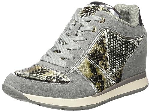 Guess FLLCE3 SUE12, Zapatillas para Mujer, Verde (Olive), 39 EU