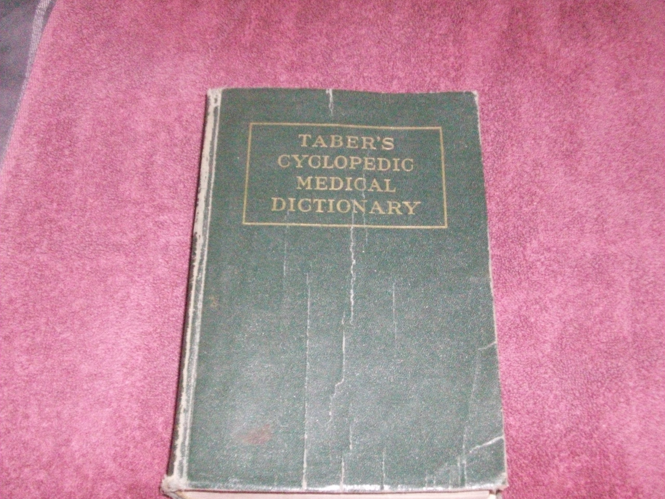 Tabers Cyclopedic Medical Dictionary 6th Sixth Edition Clarence