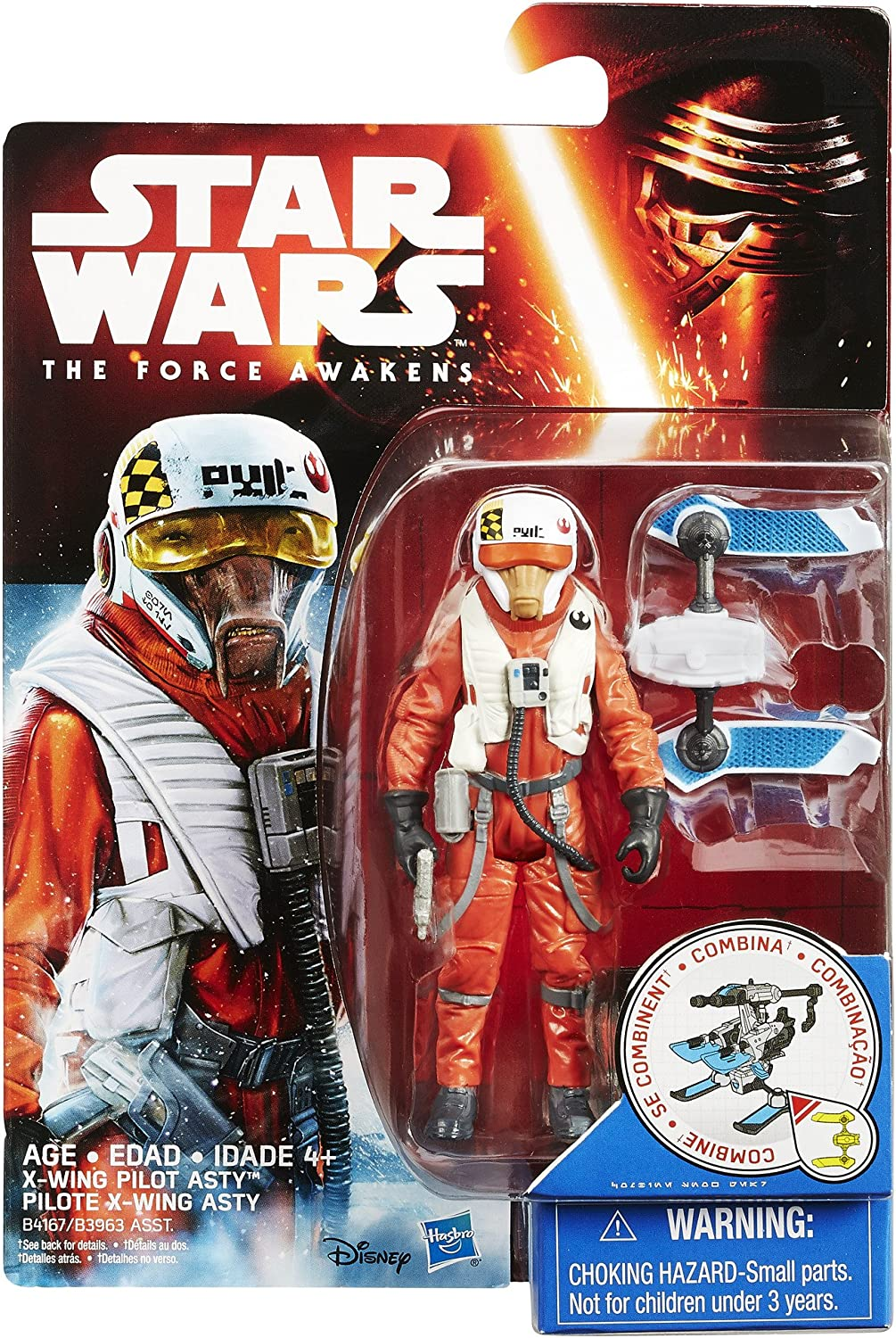 STAR WARS BLACK SERIES X-WING  PILOT  ASTY ACTION FIGURE