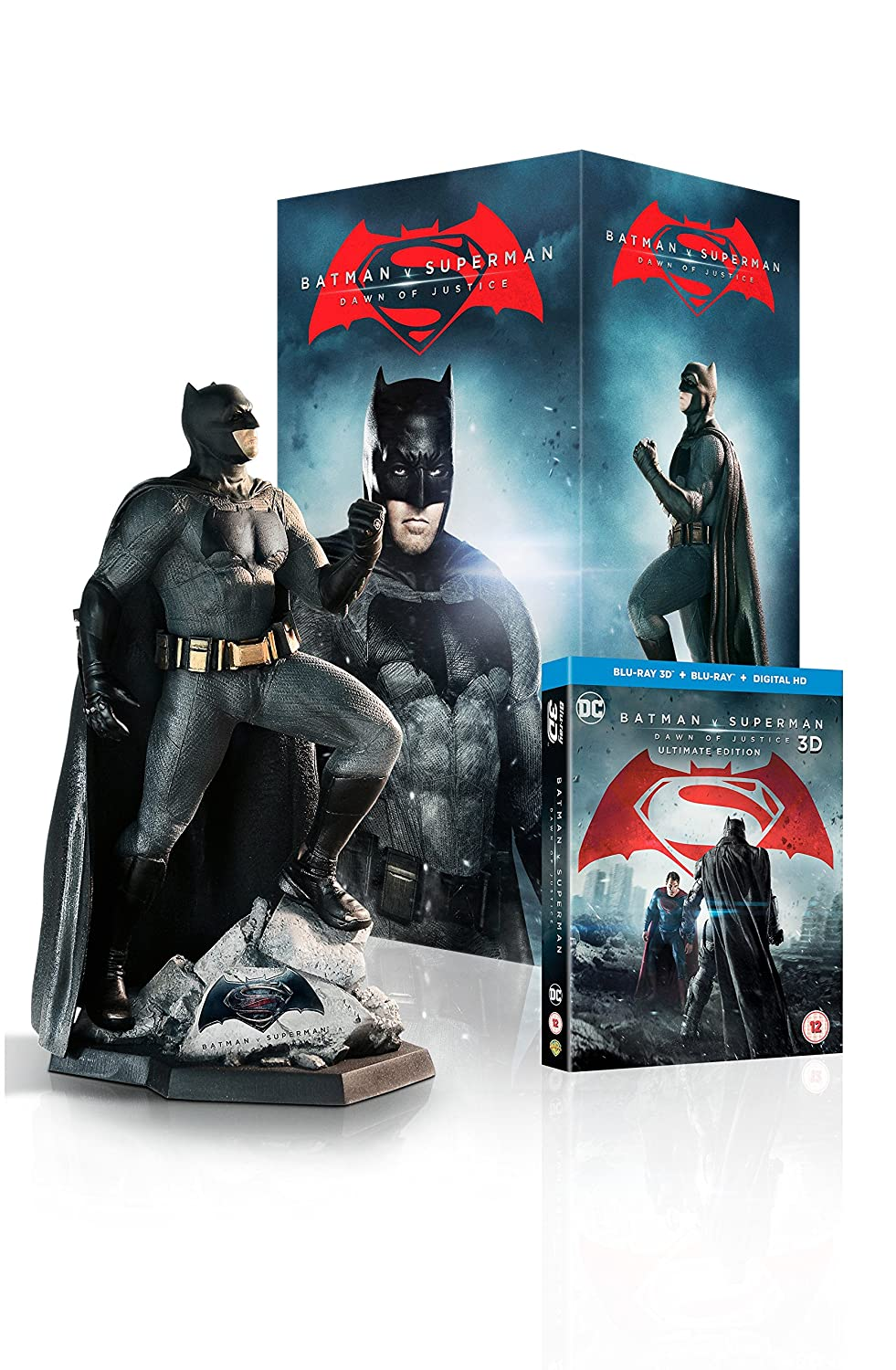 Fashion of the bat an extremely thorough examination of batman s - Batman V Superman Dawn Of Justice Batman Statue Ultimate Edition Limited Edition Exclusive To Amazon Co Uk Includes Digital Download Blu Ray 3d