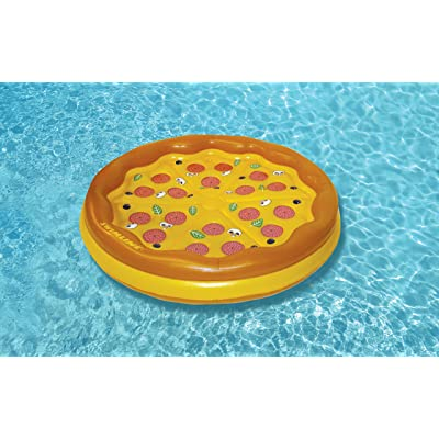 Swimline Personal Pizza Island Swimming Pool Float: Toys & Games