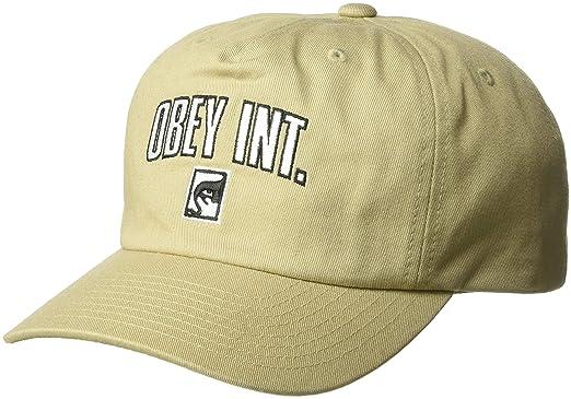 8ebf5a05757 Amazon.com  Obey Men s International Strapback HAT