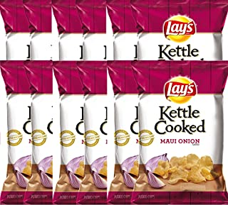 product image for LAY'S Kettle Cooked Maui Onion Flavored Potato Chips 8 Oz (12)