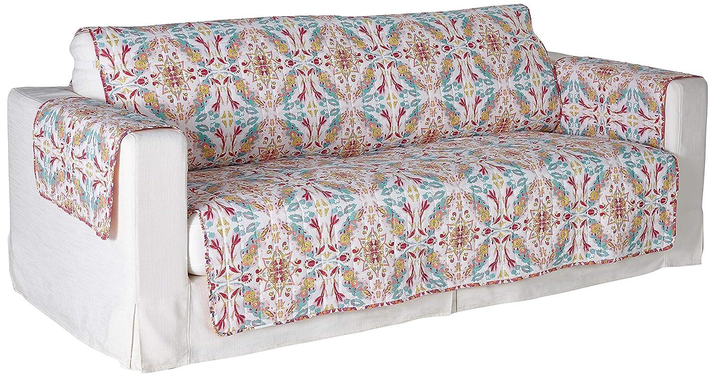 White Loveseat Greenland Home Joannas Garden Slipcover