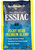 Essiac Tea, Eight Herb Upgraded Formula, Certified Organic Essiac, Certified by QAI, San Diego, Eight 1 Oz. Packets Makes 8 One Quart Bottles (1 Gal.) Essiac Tea!, 64 Day Supply