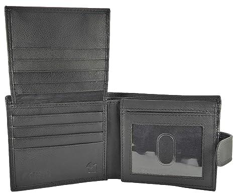 Para hombre funda de piel sintética tipo cartera – secciones de 3 Note, 16 C
