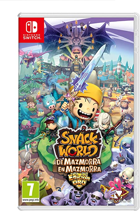 Snack World: De mazmorra en mazmorra: Amazon.es: Videojuegos