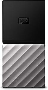 WD 256GB My Passport SSD External Portable Drive, USB 3.1, Up to 540 MB/s - WDBKVX2560PSL-WESN