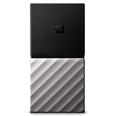 WD 2TB My Passport SSD Portable Storage - USB 3 1 - Black-Gray -  WDBKVX0020PSL-WESN