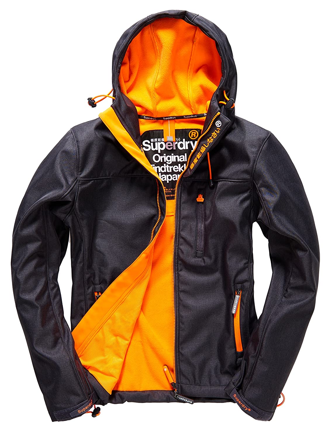 SUPERDRY Herren Regenjacken Hooded Windtrekker