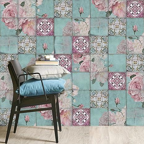 Stickers da Muro adesivo per bagno | Piastrelle adesivi per ...