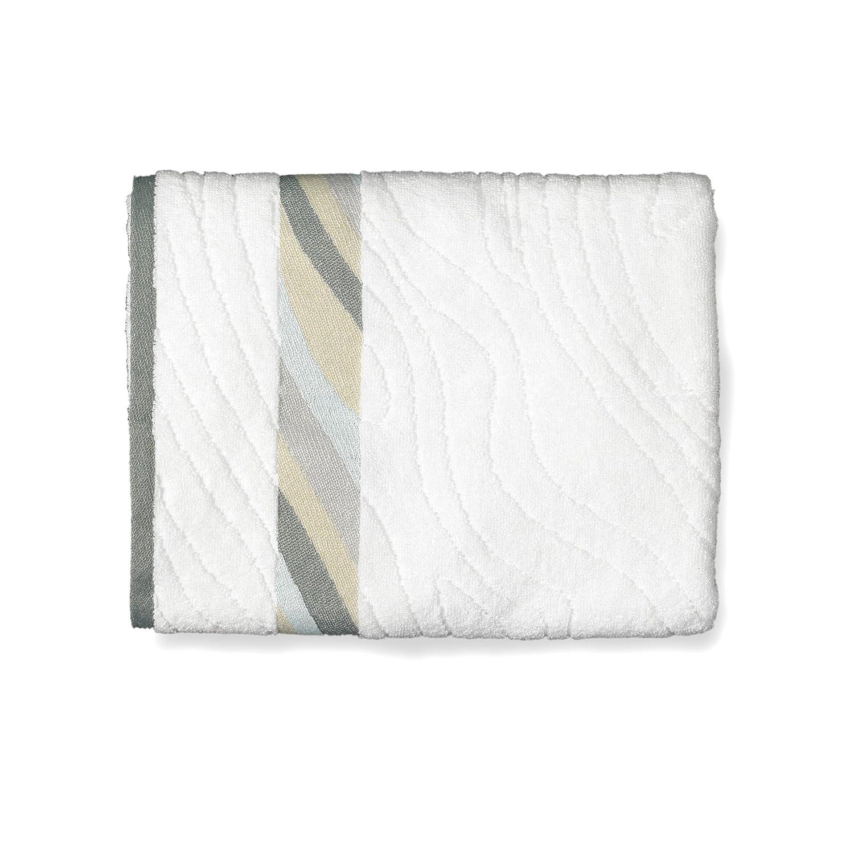 Kess InHouse Anne Labrie Heavenly Peace Blue Digital Round Beach Towel Blanket