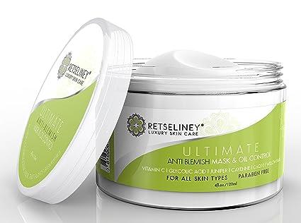 retseliney mejor máscara de acné y control de aceite, orgánico acné ...