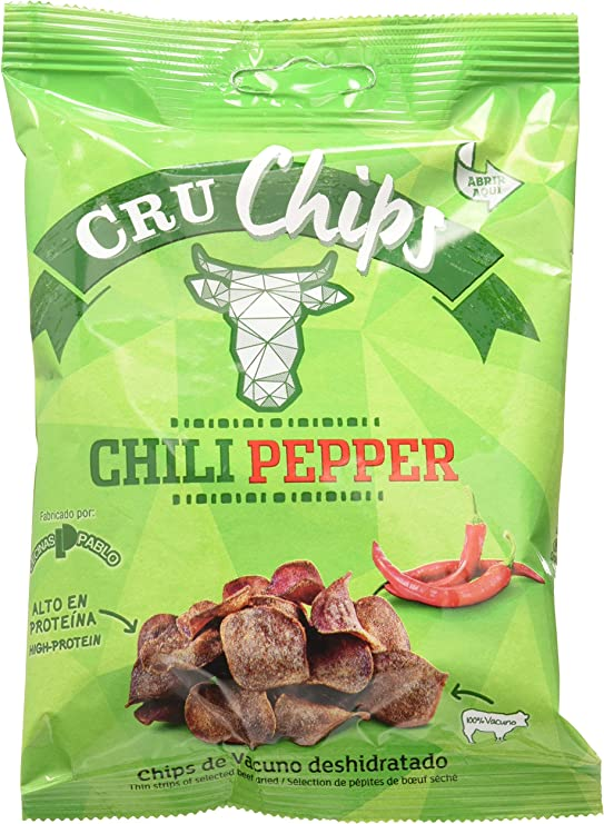 CruChips, Cecina y carne seca (Sabor Chili Pepper) - 6 de 25 ...