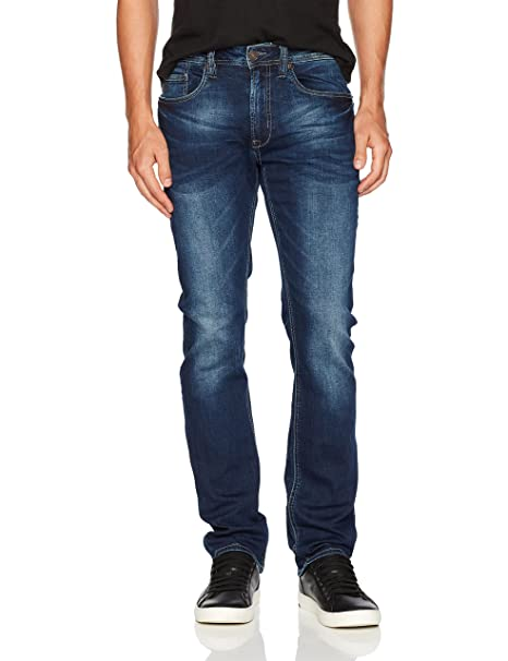 Buffalo David Bitton Mens Ash-x Slim Fit Denim Jean