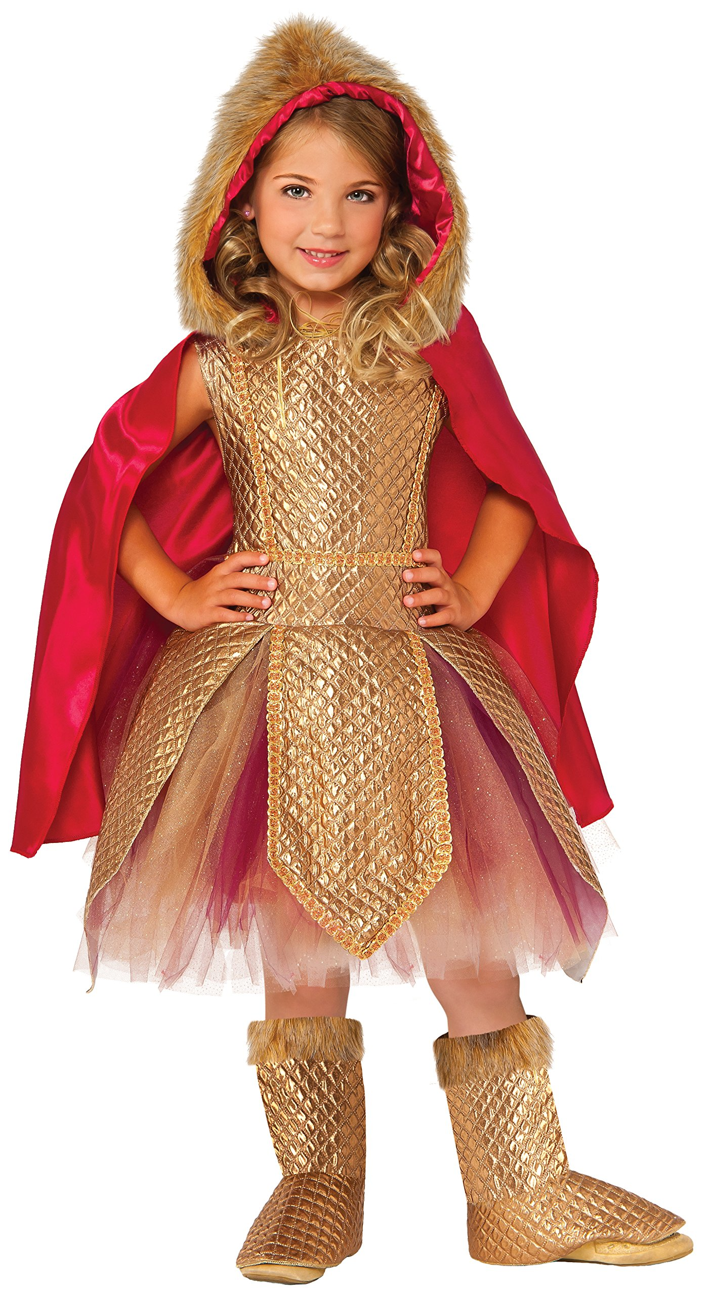 Rubie's Costume Kids Deluxe Warrior Princess Costume, Small